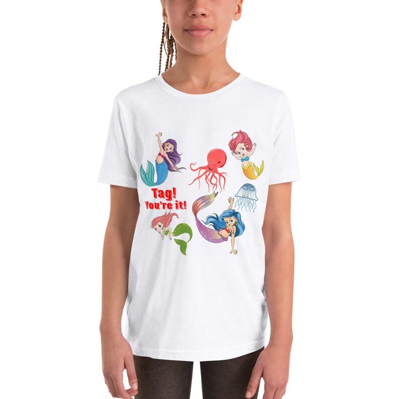 Youth Short Sleeve Mermaid T-Shirt image 0