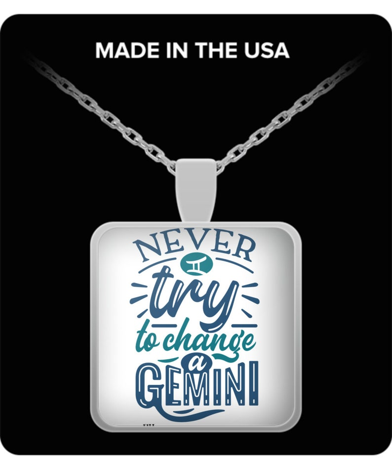 Never try to change a gemini necklace image 0