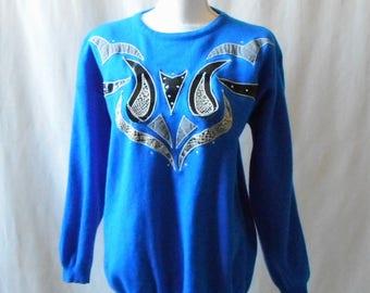 48e298588e Snakeskin sweater