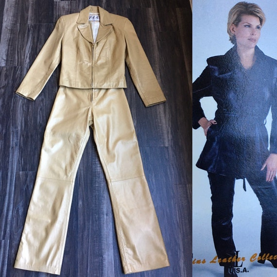 Vintage Twin's Leather Collection,1980s Leather Su