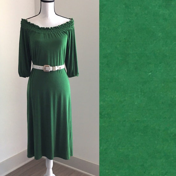 Vintage CSC Studio,1970s Off the Shoulder Dress,19