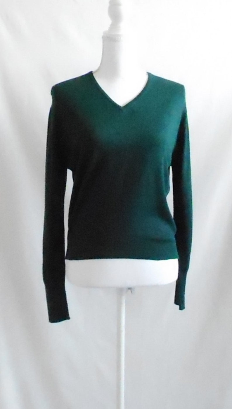 5a07b47db CLEARANCEVintage Rodier SweaterVintage SweaterGreen