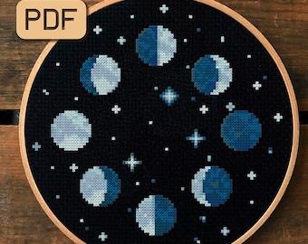 Space cross stitch