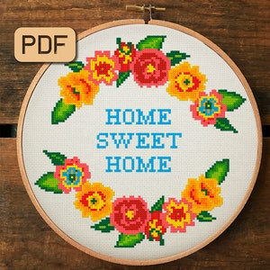 minimalist,needlepoint,clean and simple,embroidery,scandinavian,diy,black,modern design,anette eriksson HOME Modern cross stitch pattern