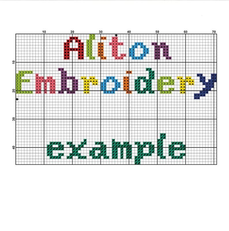 Shamrock Cross Stitch Pattern, Clover Cross Stitch, Small Cross Stitch PDF,  Instant Download