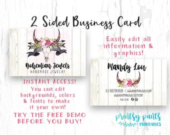 Business cards etsy popular items for business cards reheart Gallery