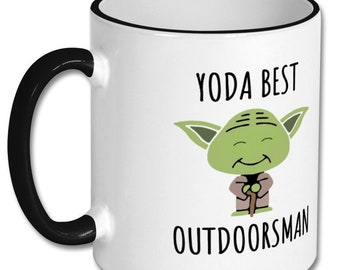 BEST OUTDOORSMAN Mug Outdoorsmanoutdoorsman Giftoutdoorsmenoutdoorsman Gift Idea