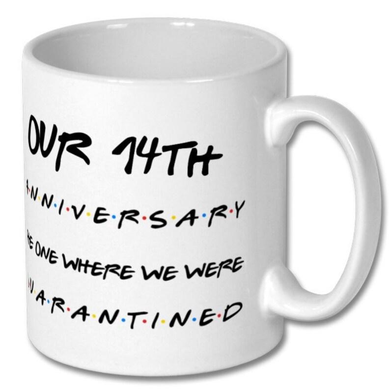 14TH ANNIVERSARY GIFT 14th anniversary mug 14 years of | Etsy