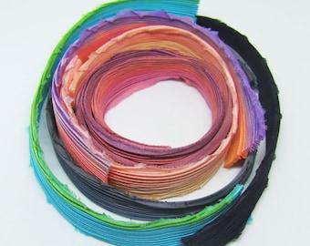 165 см quality handmade shibori ribbon
