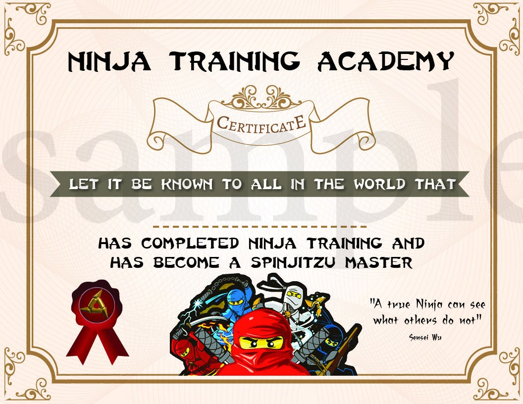 Superhero Training Certificate Printable Topsimages