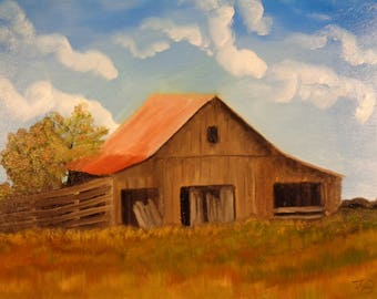 Barn in the Midwest