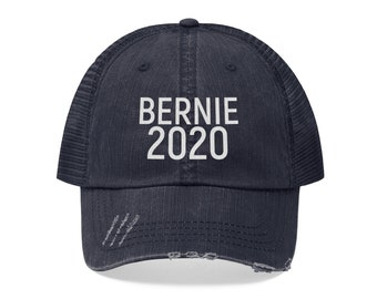 87aae09df5448 Bernie 2020 Embroidered Hat  Bernie Sanders for President  Democrats  2020  Election  Blue Wave  Trucker Hat  Feel the Bern  Political Hats