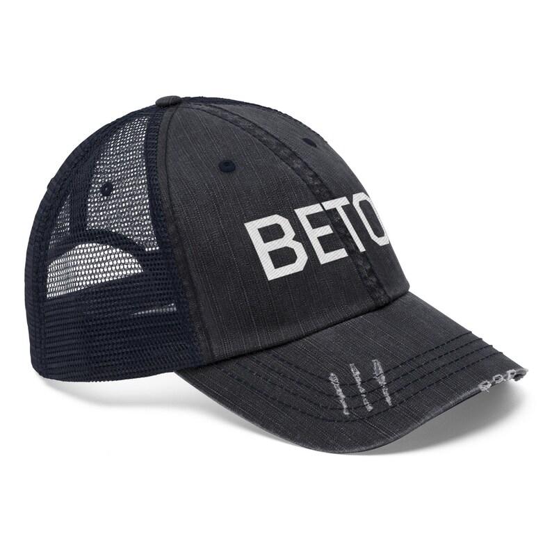 Beto for Texas Hat  Beto Trucker Hat  Beto ORourke  c60144b4b549