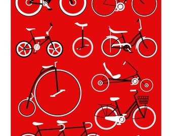 Bicycles - Red