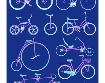 Bicycles - Lavender