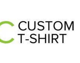 Hand-Embroidered Custom Tshirt