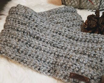 Classic Infinity Scarf, Ribbed