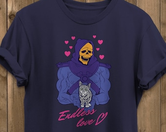 70ace4efe7e754 Skeletor Endless Love - He-Man Masters Of The Universe Inspired - Funny  Retro Cartoon Tv Show - Unisex Graphic T-Shirt
