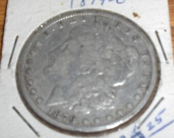 1879 O Morgan Silver Dollar - minted in New Orleans