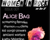Women in Rock Magazine Issue 001 (2nd Printing) Back in Stock!!