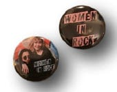 The Detroit Cobras Women in Rock Button