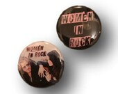 SERVICE Women in Rock Button