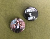 Sarah Shook Women in Rock Button Set