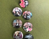 Women in Rock Button Set