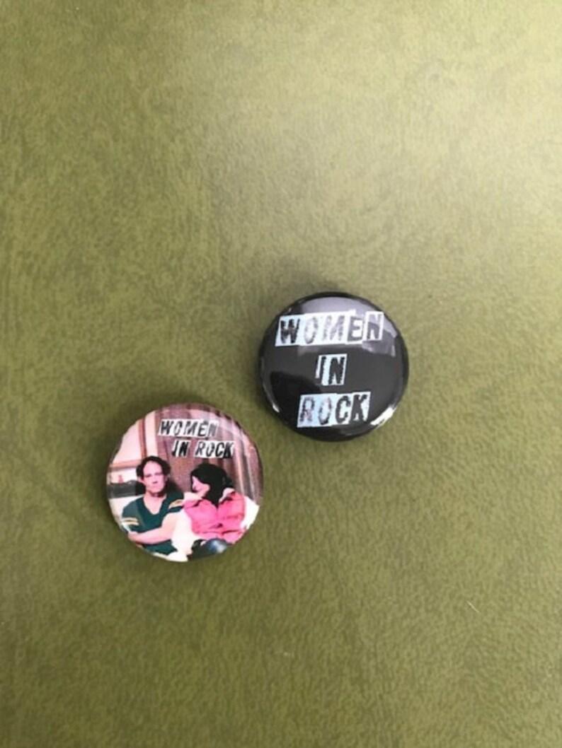 Shellshag Women in Rock Button Set image 0