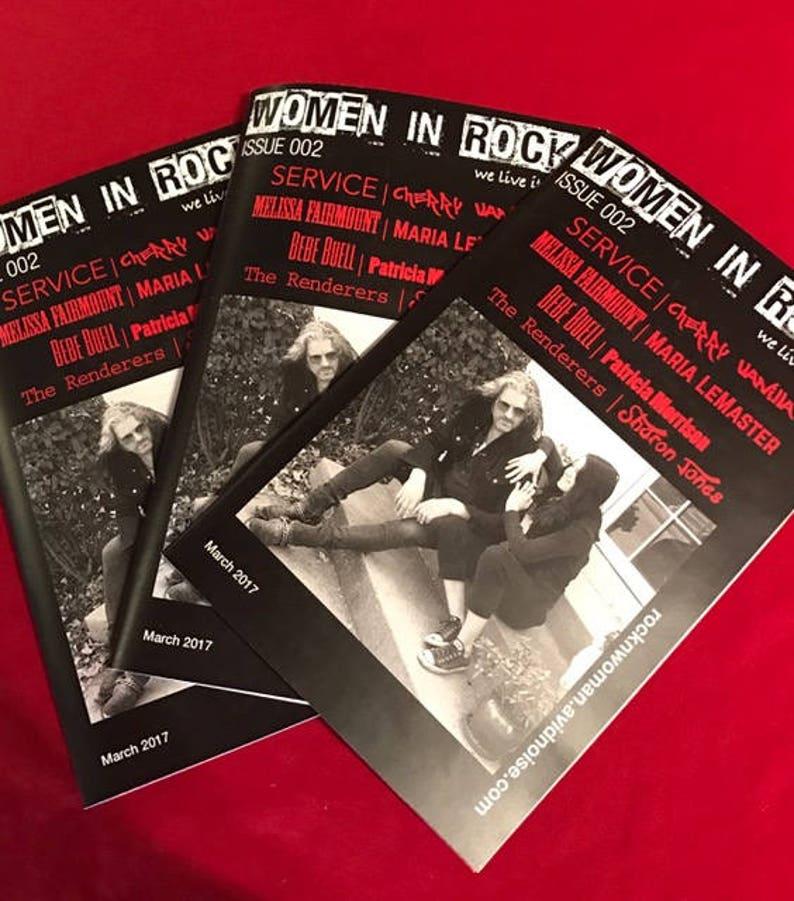 Women in Rock Magazine Issue 002 image 0