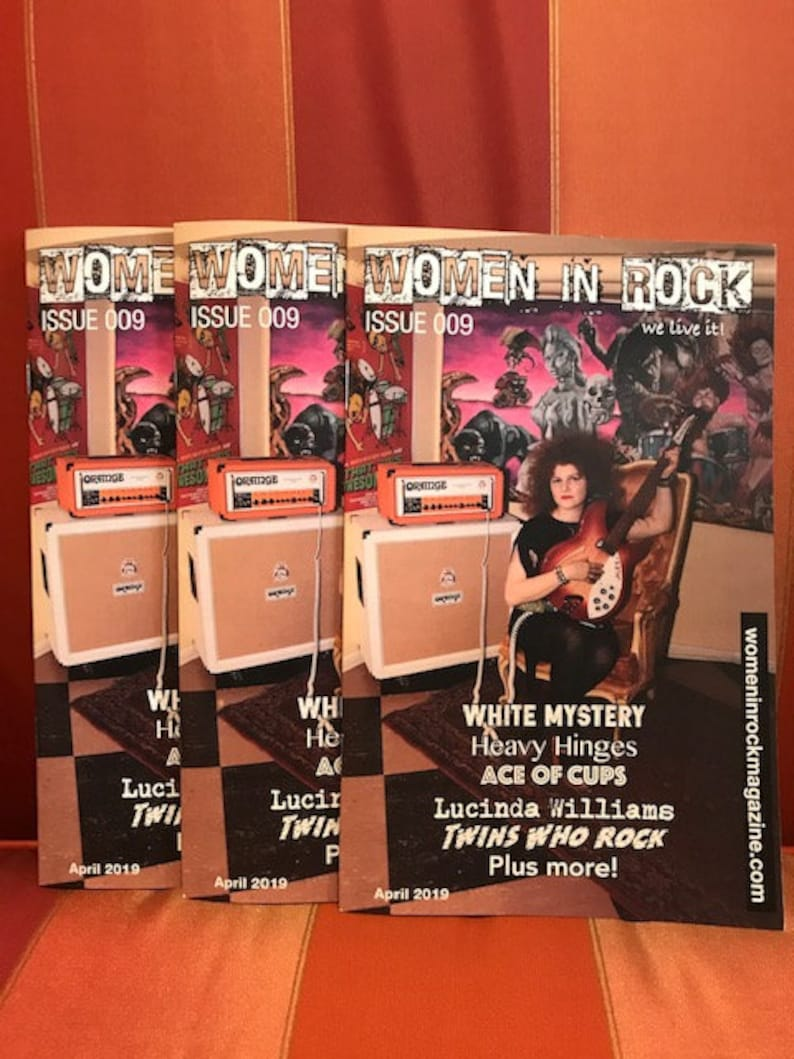 Women in Rock Magazine Issue 009 image 0
