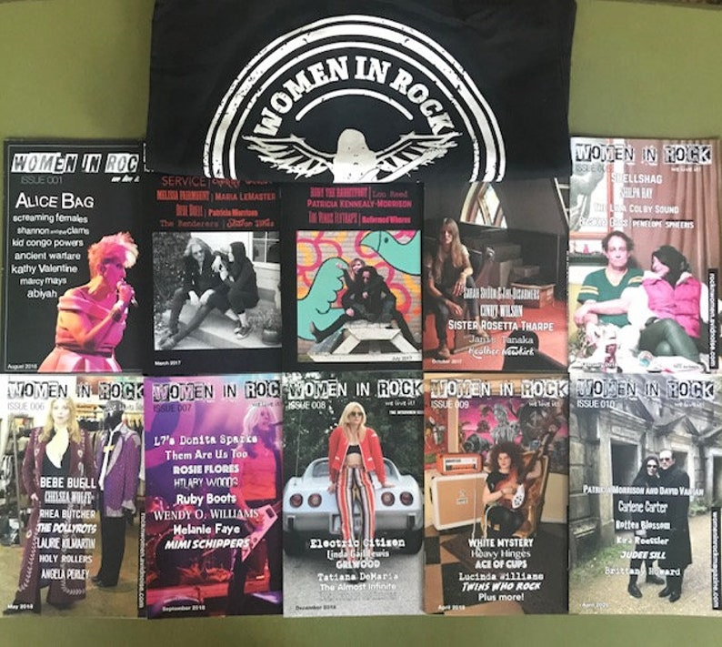 Women in Rock 10 Issue Set  Tote Bag image 0