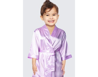 Lavender Flower Girl Robes  2eb3bed81
