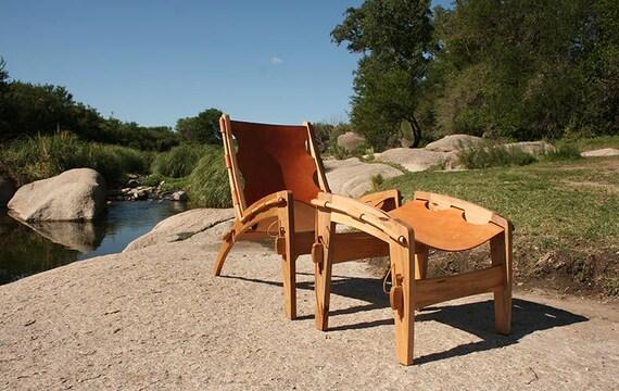 Surprising Quilpo Ottoman Leather Sling Chair Ottoman Spiritservingveterans Wood Chair Design Ideas Spiritservingveteransorg