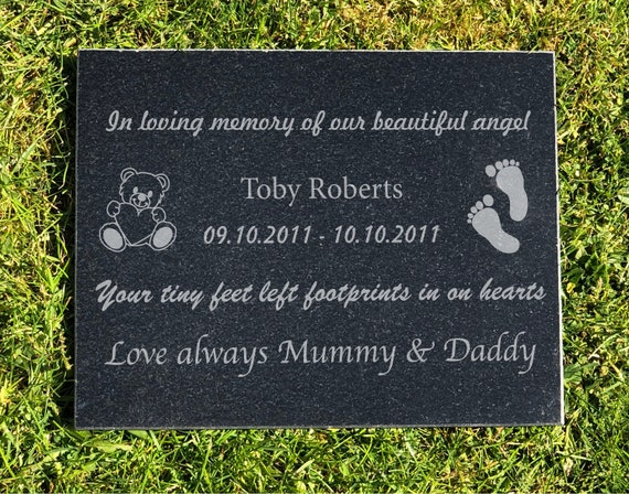 New Kids Child Memorial Diamante Teddy Bear Book Keepsake Grave Funeral Tribute