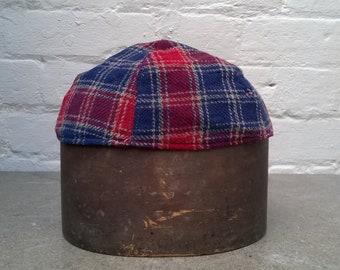 cf5680272b4 1960s deerstalker Black Watch tartan variation Harrods hat