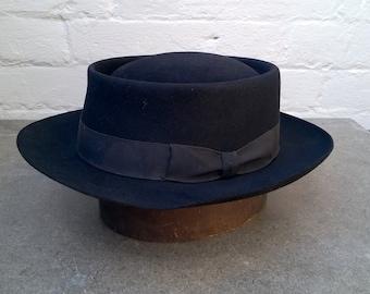 454720e697d Original 1950s pork pie hat