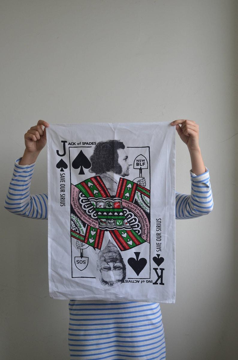 Jack Mundey Tea Towel image 0