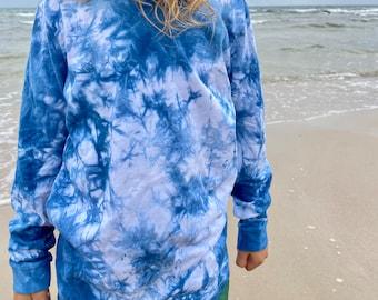 Indigo dye Long Sleeve Shirt