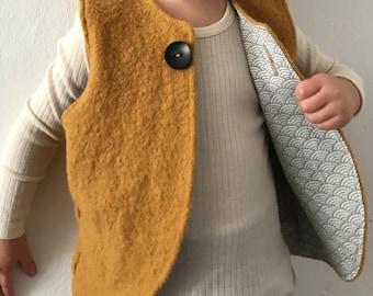 Wool Vest *Sekai Mustard*