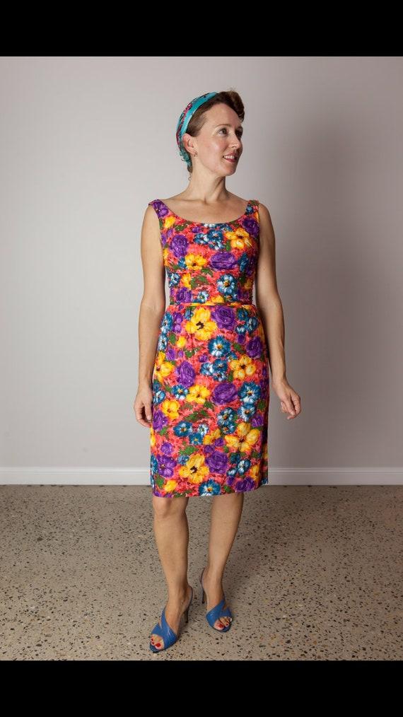 1960's wiggle dress