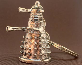 Dalek | Doctor Who | Keychain | Keyring | Time Lord | Tardis | Sonic Screwdriver | Dr Who | Doctor Who Gift | Bag Charm | Bag Accessory