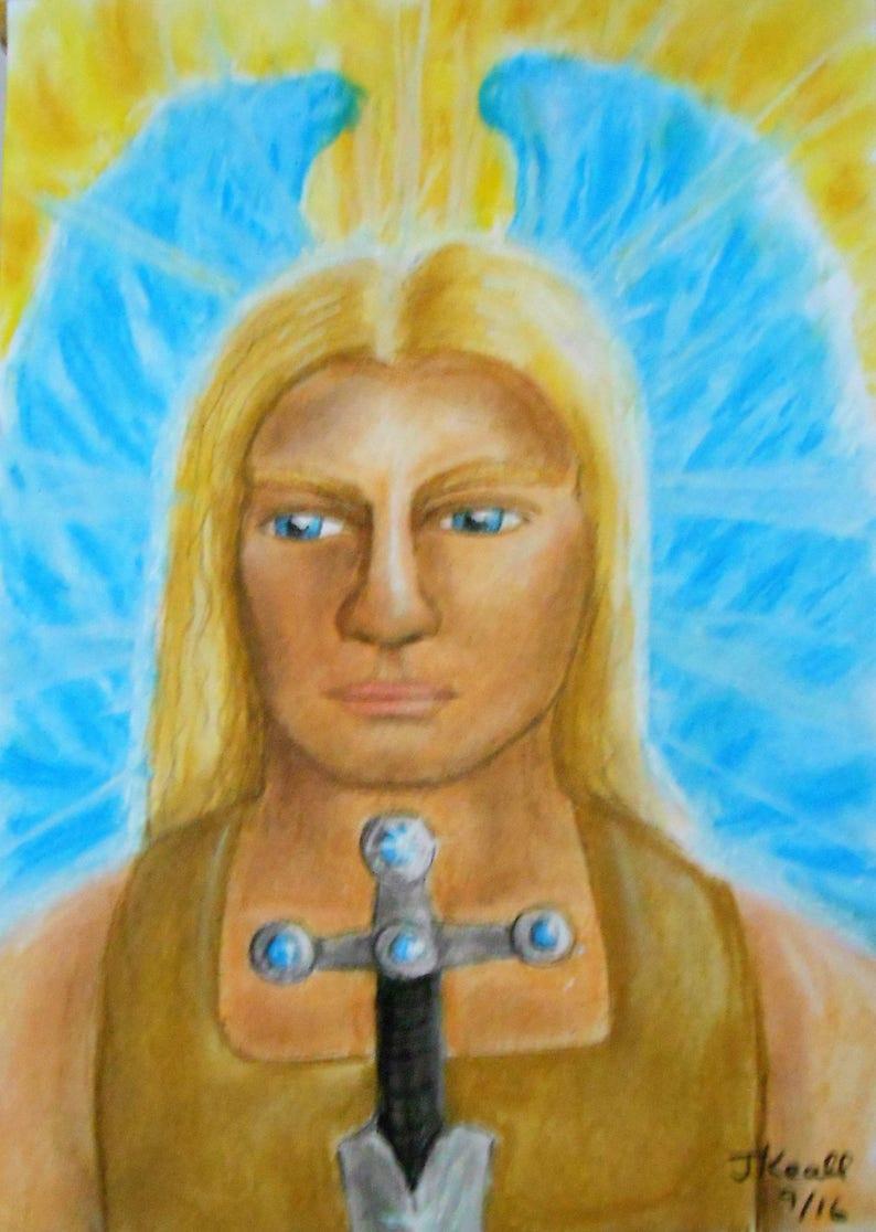 Archangel Guide Portrait Personal and Unique  Please note image 0