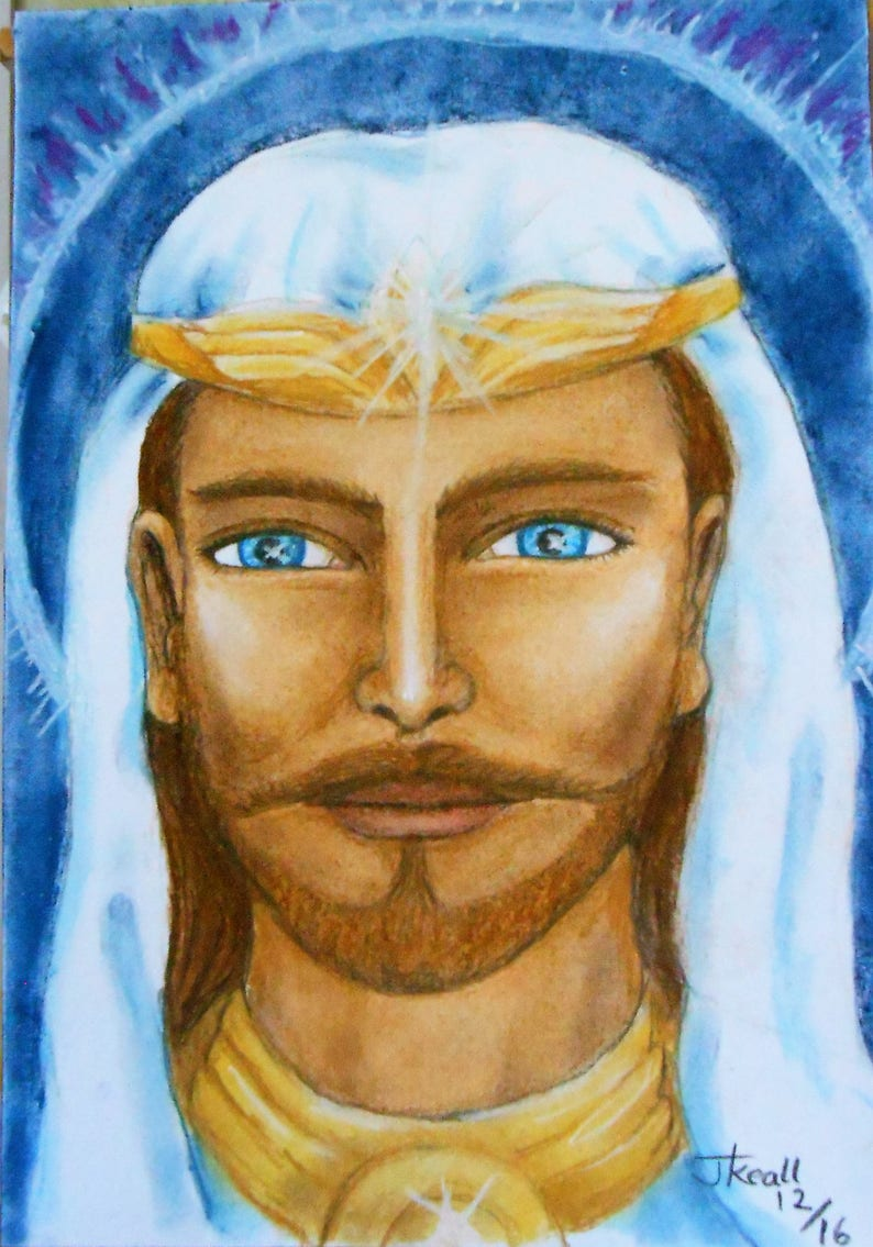 Ascended Master Portrait Personal and Unique to you Please image 0
