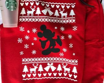 popular items for disney christmas sweater - Disney Christmas Sweaters