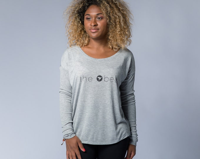 Featured listing image: Ladies' Long Sleeve T-shirt / women's long sleeved T-shirt