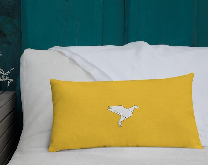 Royalty Premium Yellow Cushion
