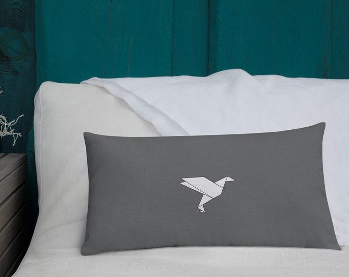 Royalty Premium Grey Cushion