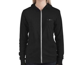 SLIM Unisex ZIP hoodie