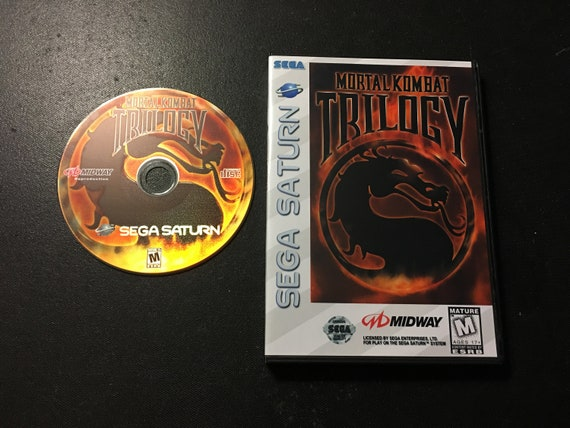 Sega Saturn Mortal Kombat Trilogy Reproduction